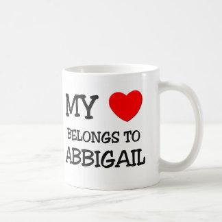 My Heart Belongs To ABBIGAIL Mug