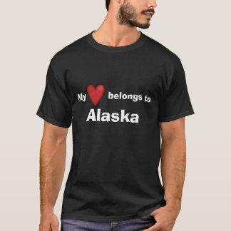 My Heart Belongs To Alaska T-Shirt