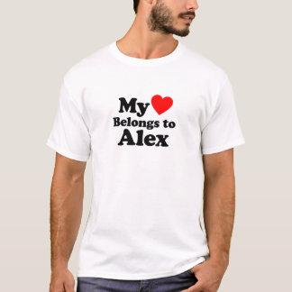 My Heart Belongs to Alex T-Shirt