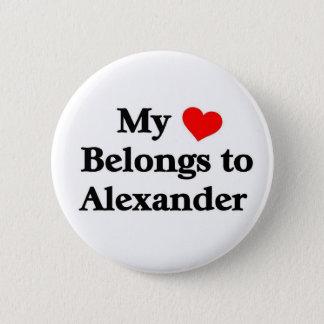 My heart belongs to Alexander Button