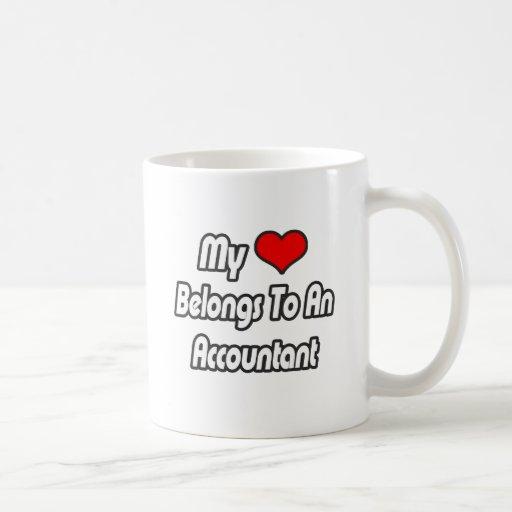 My Heart Belongs To An Accountant Mug