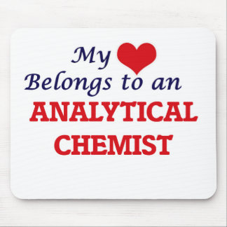 My Heart Belongs to an Analytical Chemist Mouse Pad