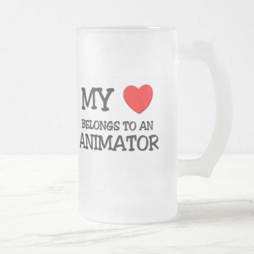 My Heart Belongs To An ANIMATOR Coffee Mug