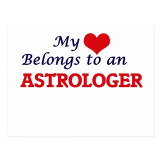 My Heart Belongs to an Astrologer Postcard