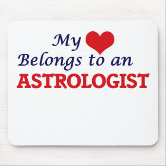 My Heart Belongs to an Astrologist Mouse Pad