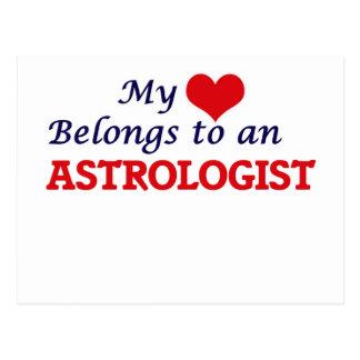 My Heart Belongs to an Astrologist Postcard