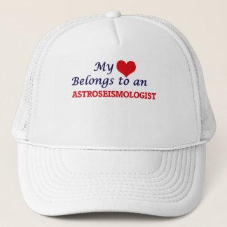 My Heart Belongs to an Astroseismologist Trucker Hat