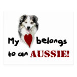 My heart belongs to an Aussie! Postcards