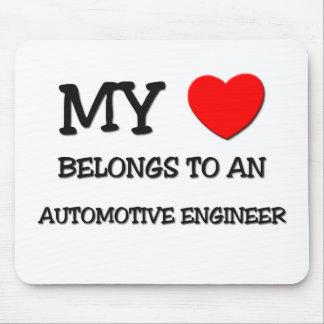 My Heart Belongs To An AUTOMOTIVE ENGINEER Mouse Mats