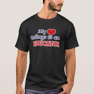 My Heart Belongs to an Educator T-Shirt
