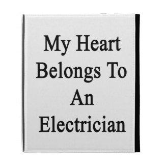 My Heart Belongs To An Electrician iPad Cases