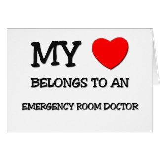 My Heart Belongs To An EMERGENCY ROOM DOCTOR Card