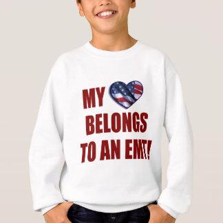 My Heart Belongs to an EMT Sweatshirt