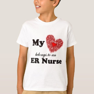 My Heart Belongs To An ER Nurse T-Shirt