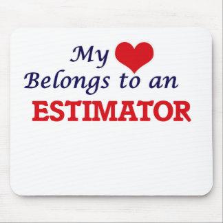 My Heart Belongs to an Estimator Mouse Pad