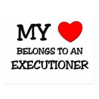 My Heart Belongs To An EXECUTIONER Postcard