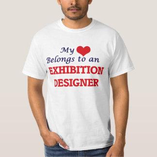 My Heart Belongs to an Exhibition Designer T-Shirt