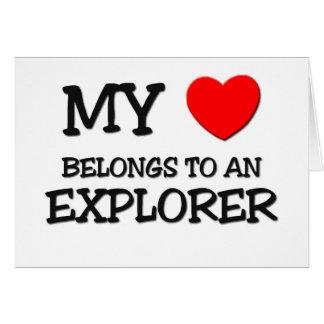 My Heart Belongs To An EXPLORER Card