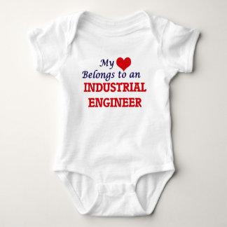 My Heart Belongs to an Industrial Engineer Baby Bodysuit