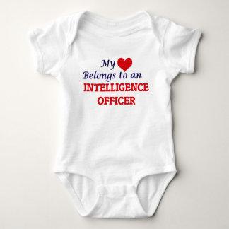 My Heart Belongs to an Intelligence Officer Baby Bodysuit