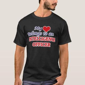 My Heart Belongs to an Intelligence Officer T-Shirt