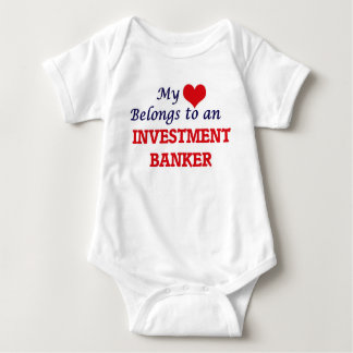 My Heart Belongs to an Investment Banker Baby Bodysuit