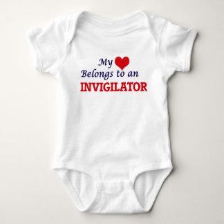 My Heart Belongs to an Invigilator Baby Bodysuit