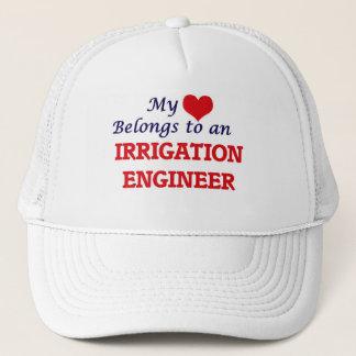 My Heart Belongs to an Irrigation Engineer Trucker Hat