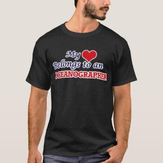 My Heart Belongs to an Oceanographer T-Shirt