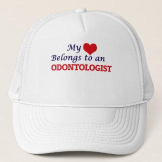 My Heart Belongs to an Odontologist Trucker Hat