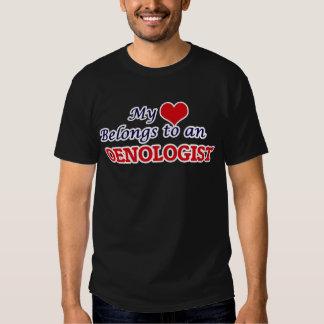 My Heart Belongs to an Oenologist T-Shirt