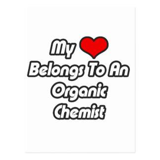 My Heart Belongs To An Organic Chemist Postcard