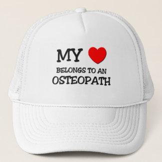 My Heart Belongs To An OSTEOPATH Trucker Hat