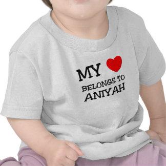 My Heart Belongs To ANAIS T-shirts