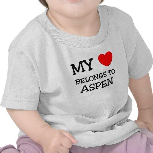 My Heart Belongs To ASPEN Tshirt