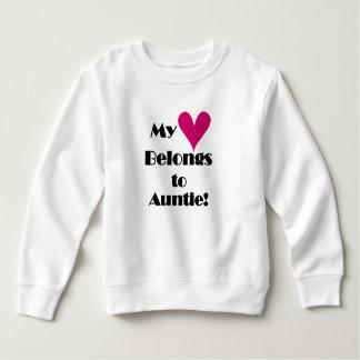 My Heart Belongs to Auntie Sweatshirt