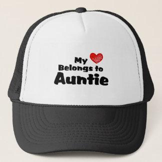 My Heart Belongs To Auntie Trucker Hat
