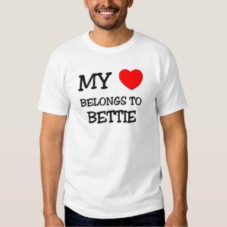 My Heart Belongs To BETTIE T-Shirt