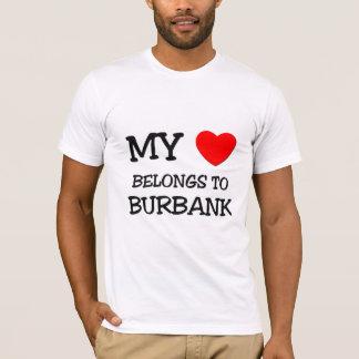 My heart belongs to BURBANK T-Shirt