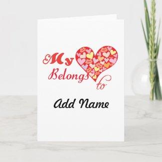 My Heart Belongs to Cards