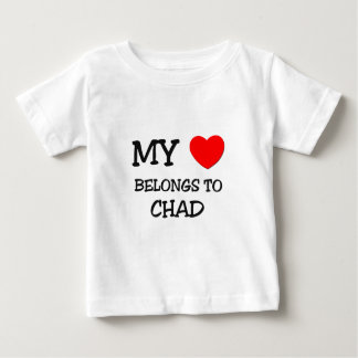My Heart Belongs to Chad Tees