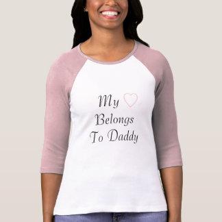My Heart Belongs To Daddy T-Shirt
