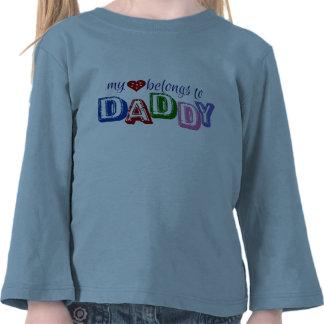 My Heart Belongs To Daddy T Shirts
