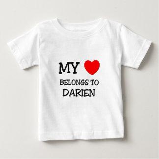 My Heart Belongs to Darien Infant T-shirt