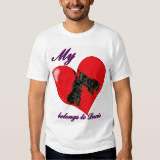 My Heart belongs to doxie Tee Shirt