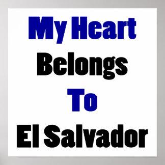 My Heart Belongs To El Salvador Poster