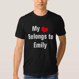 My heart belongs to Emily Shirt