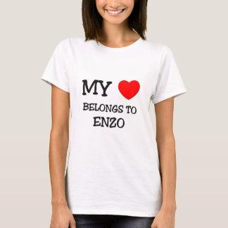 My Heart Belongs to Enzo T-Shirt