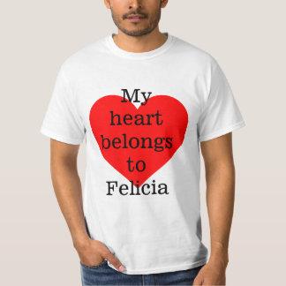 My heart belongs to Felica T Shirt