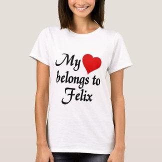 My heart belongs to Felix T-Shirt